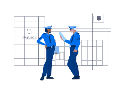 style Police Station images in PNG and SVG | Icons8 Illustrations