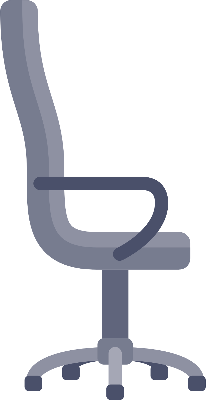 workflow  office chair Clipart illustration in PNG, SVG