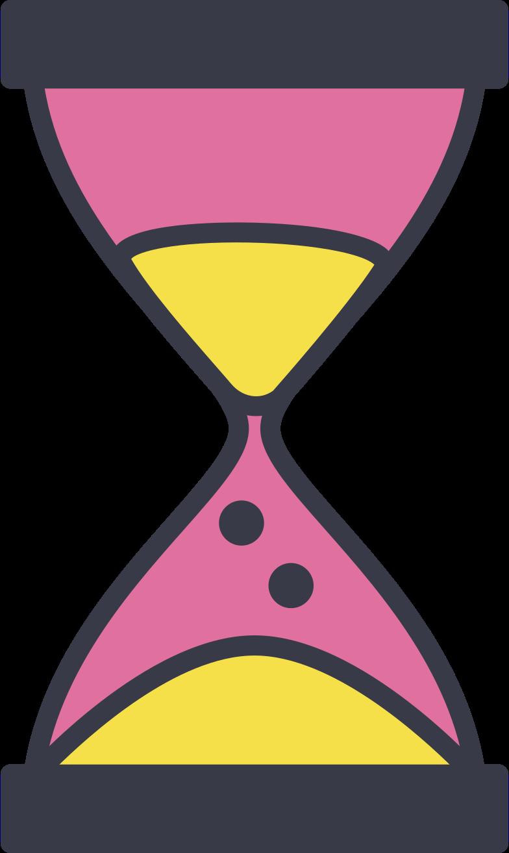 sandglass Clipart illustration in PNG, SVG