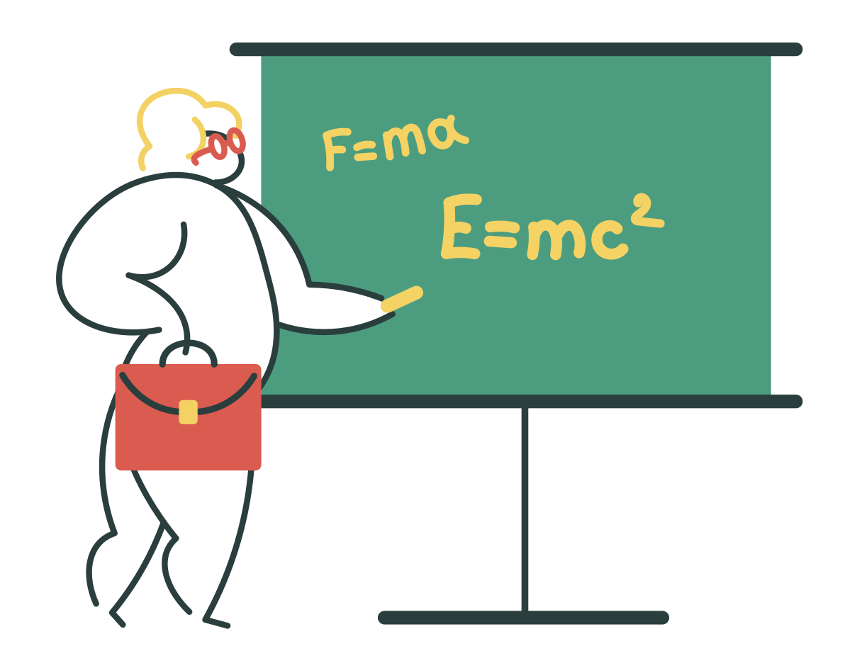 Teaching Clipart illustration in PNG, SVG