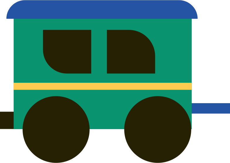 trailer Clipart illustration in PNG, SVG