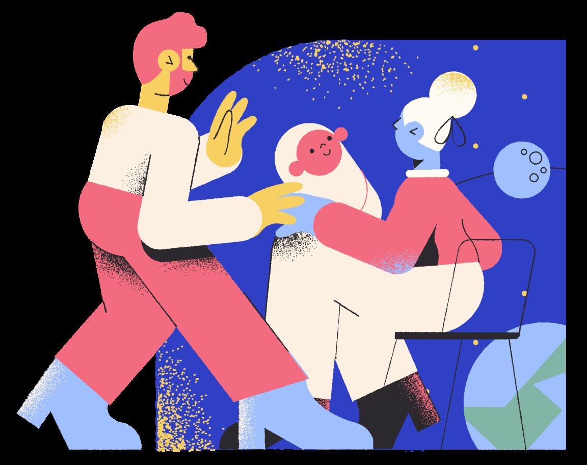 Parents Clipart illustration in PNG, SVG