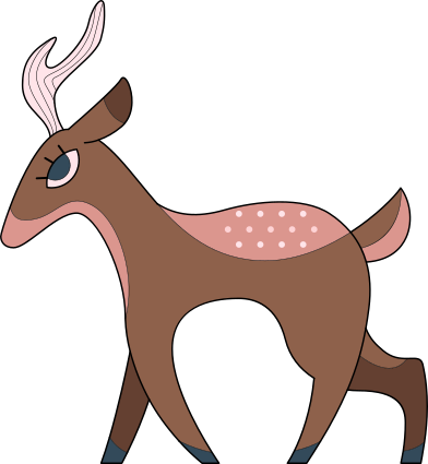 style deer images in PNG and SVG | Icons8 Illustrations