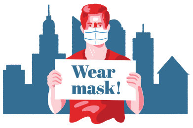 style Wear mask images in PNG and SVG | Icons8 Illustrations