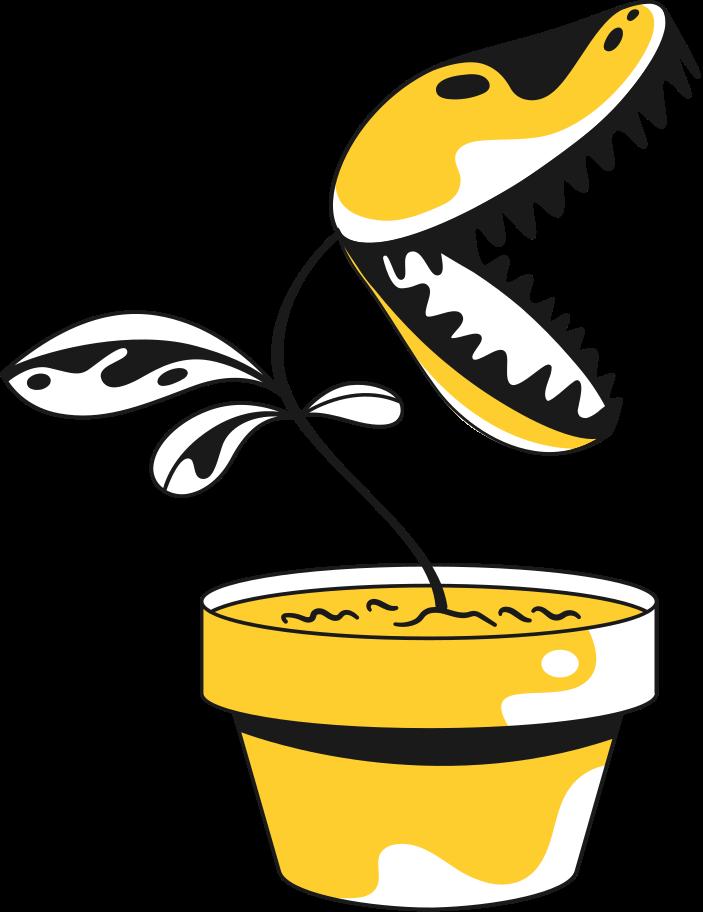 PNGとSVGの  スタイルの 植物食虫 ベクターイメージ   Icons8 イラスト