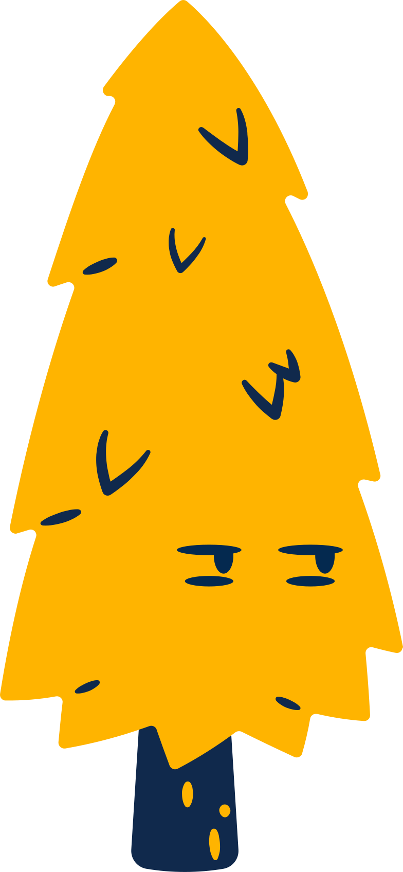 annoyed tree Clipart illustration in PNG, SVG
