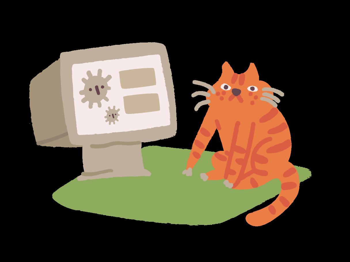 Corona-virus Clipart illustration in PNG, SVG