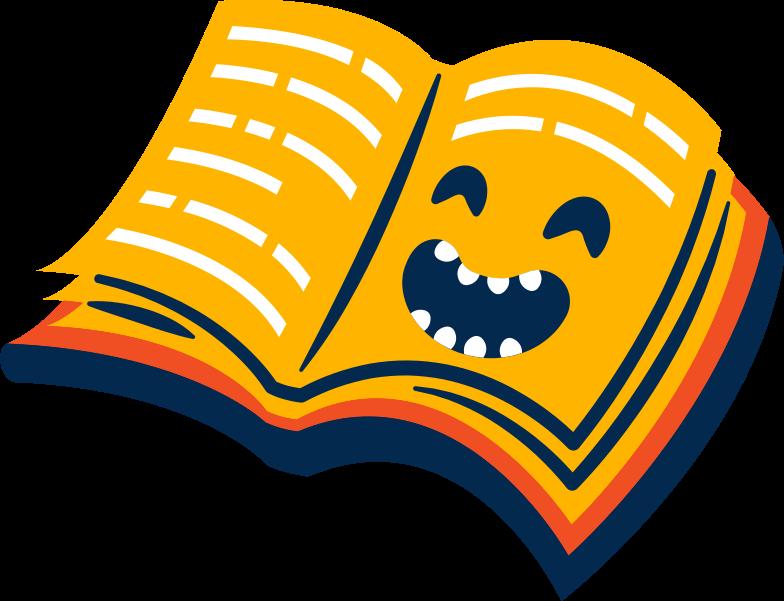 스타일 책 웃음 PNG 및 SVG 형식의 벡터 이미지 | Icons8 일러스트레이션
