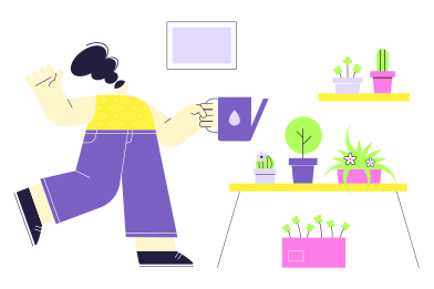 style Home Gardener images in PNG and SVG | Icons8 Illustrations