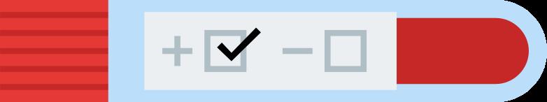test result positive Clipart illustration in PNG, SVG