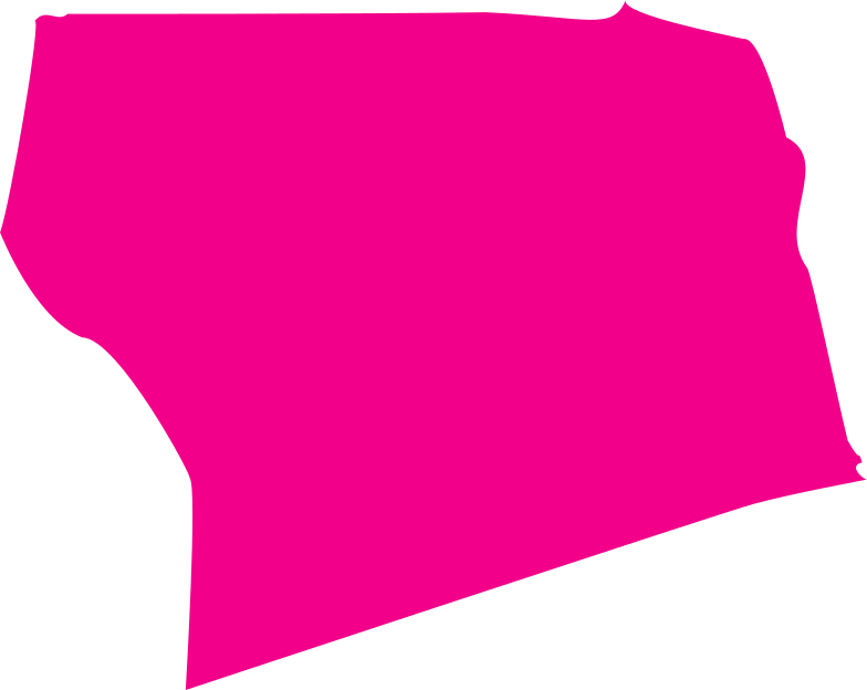 pink cured square Clipart illustration in PNG, SVG