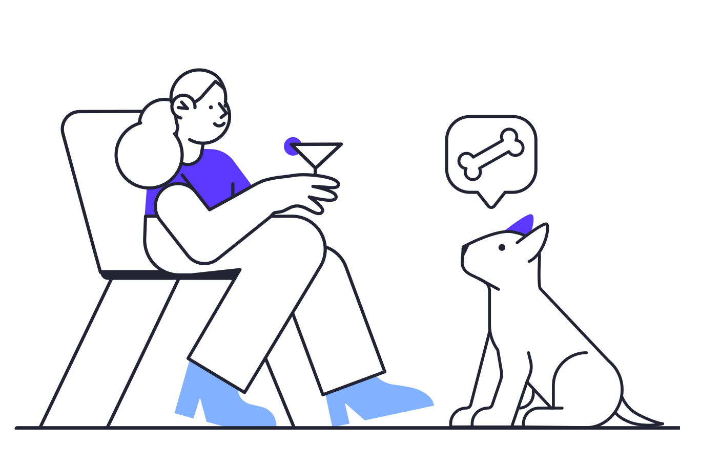 Ilustración de clipart de Diferentes necesidades en PNG, SVG