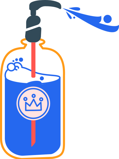 style antiseptic and spray king images in PNG and SVG | Icons8 Illustrations