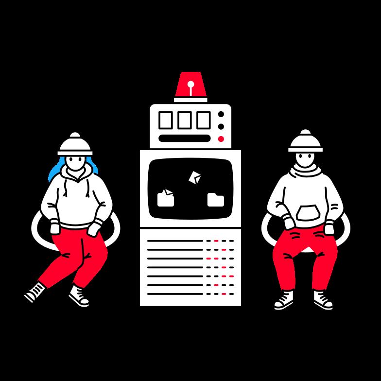 Data transfer Clipart illustration in PNG, SVG