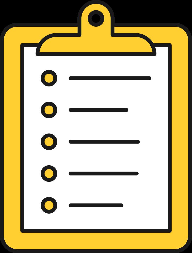 Vektorgrafik im  Stil pad mit liste als PNG und SVG | Icons8 Grafiken