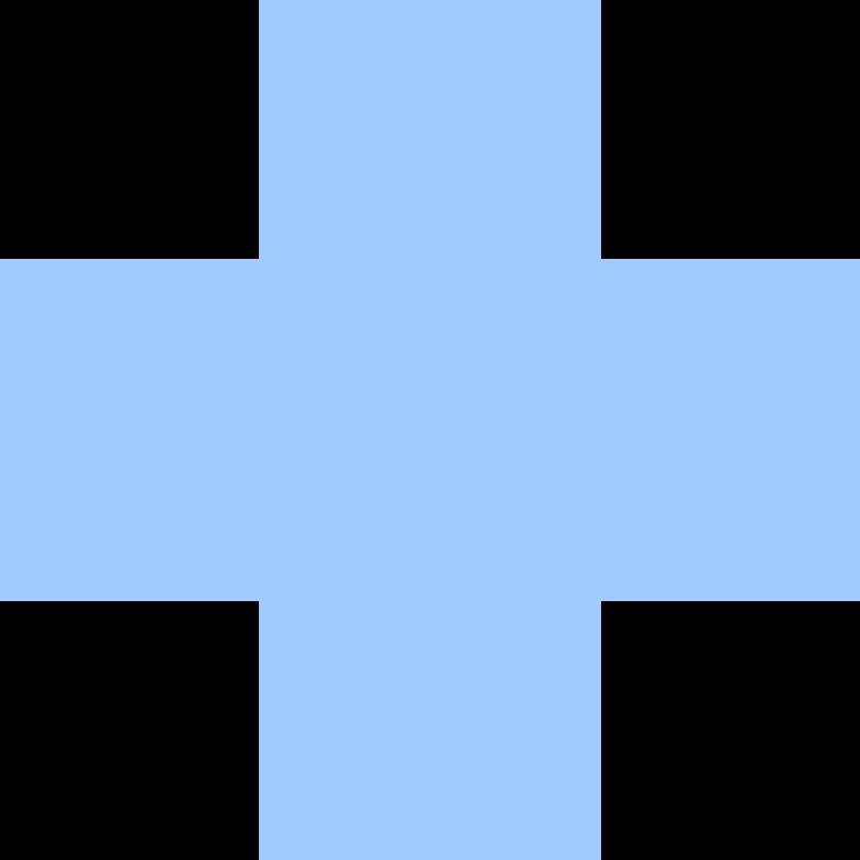 cross-light-blue Clipart illustration in PNG, SVG