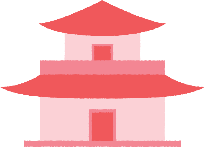 style pagoda short with doors Vector images in PNG and SVG | Icons8 Illustrations