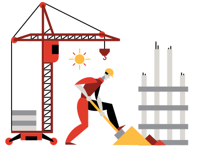 style Construction images in PNG and SVG | Icons8 Illustrations