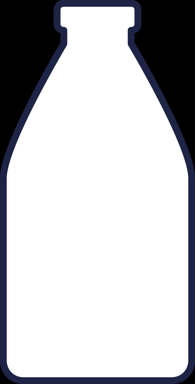 bottle 1 line Clipart illustration in PNG, SVG