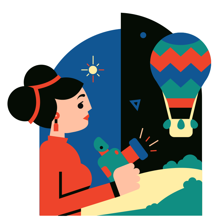 style Air balloon Vector images in PNG and SVG | Icons8 Illustrations