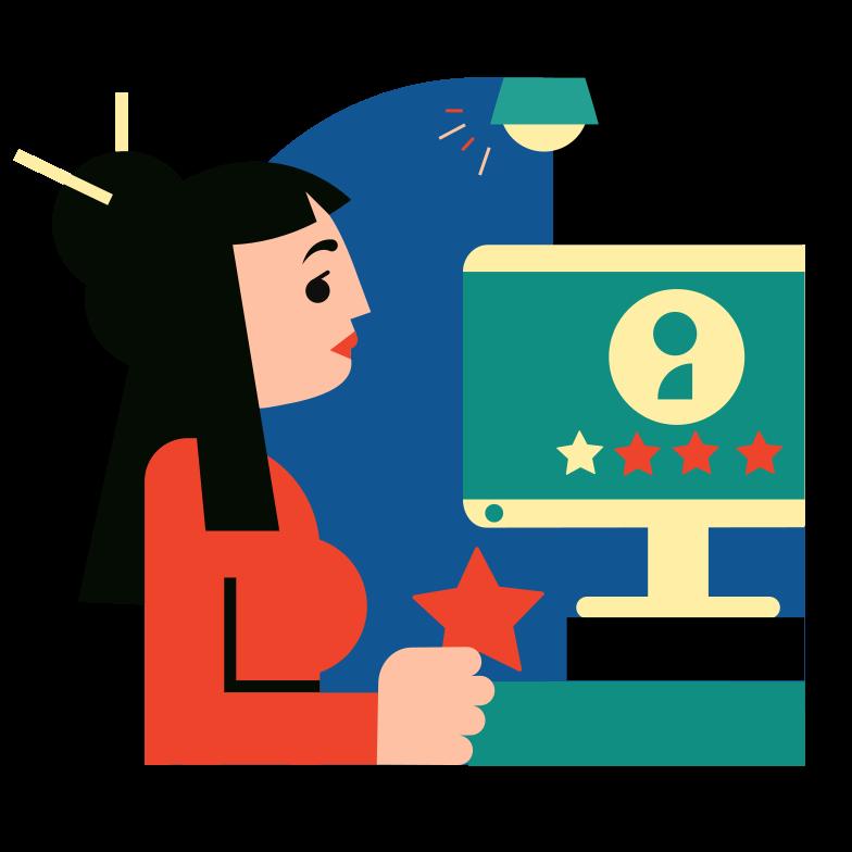 Rating Clipart illustration in PNG, SVG
