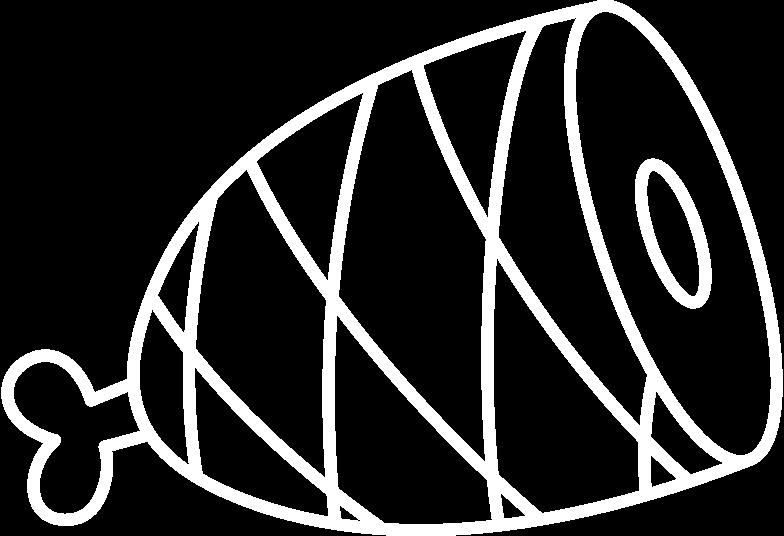hind quarter Clipart illustration in PNG, SVG