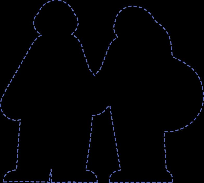 silhouette Clipart-Grafik als PNG, SVG