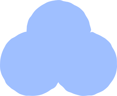 style trefoil light blue images in PNG and SVG | Icons8 Illustrations