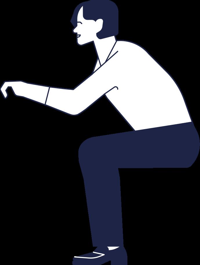 man sitting Clipart illustration in PNG, SVG