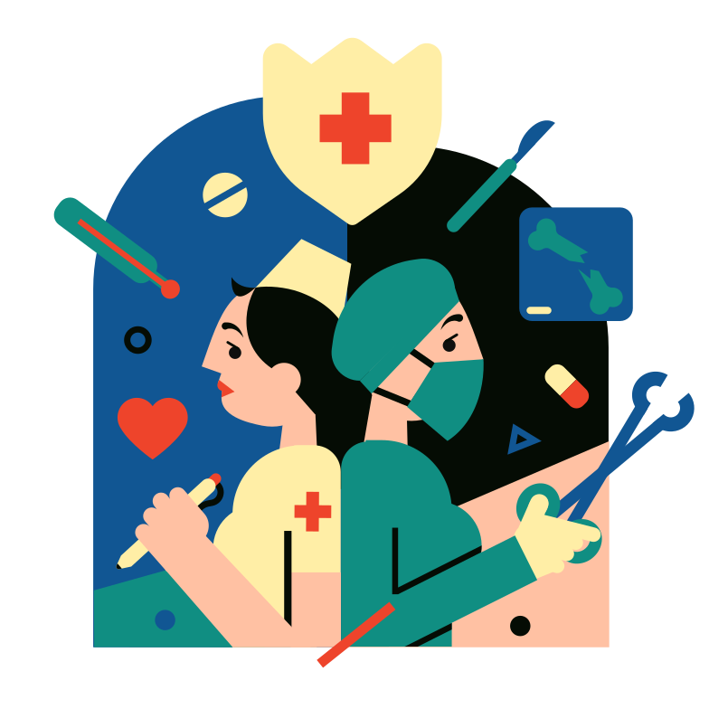 Health care Clipart illustration in PNG, SVG