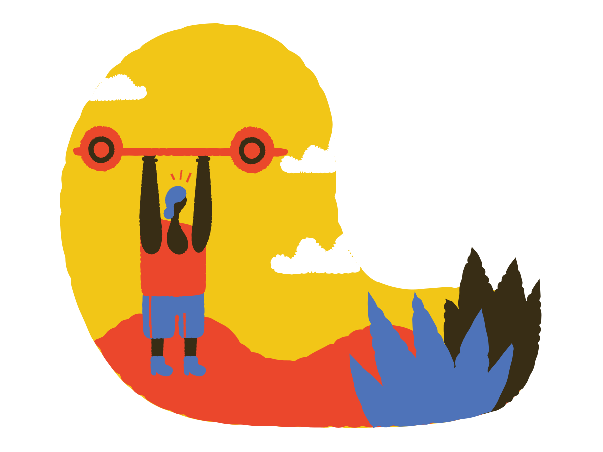 Weightlifting Clipart illustration in PNG, SVG