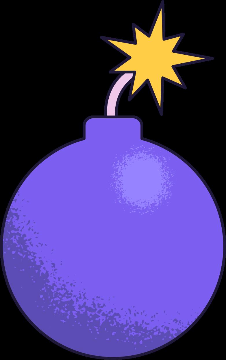 bomb Clipart illustration in PNG, SVG