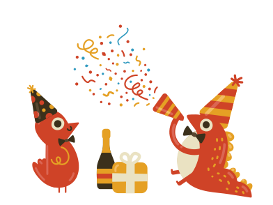 style fête d'anniversaire images in PNG and SVG | Icons8 Illustrations