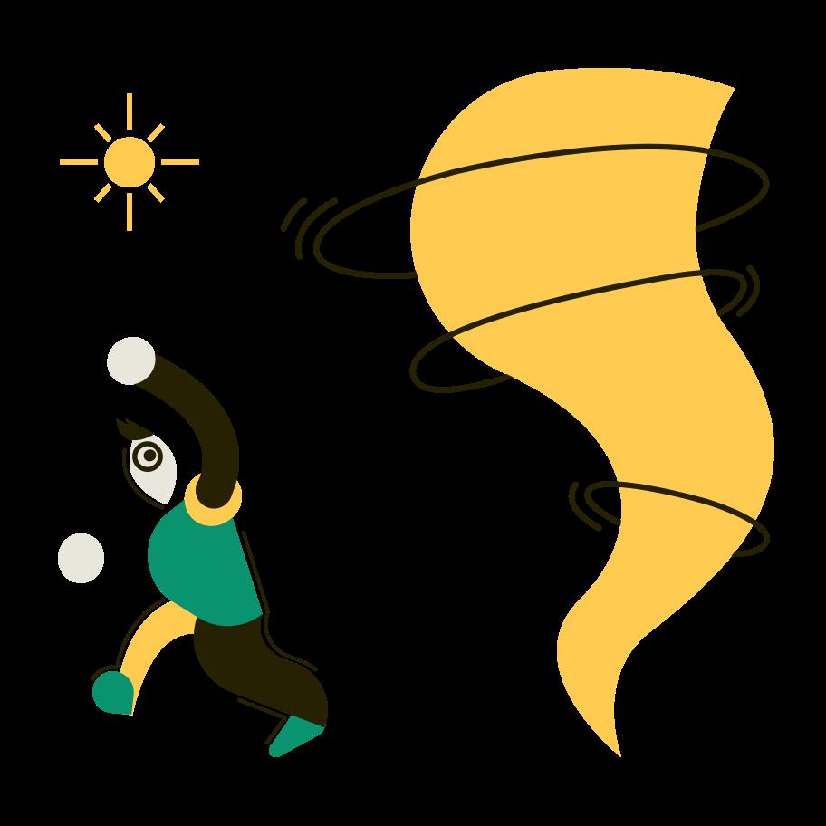 Tornado Clipart illustration in PNG, SVG