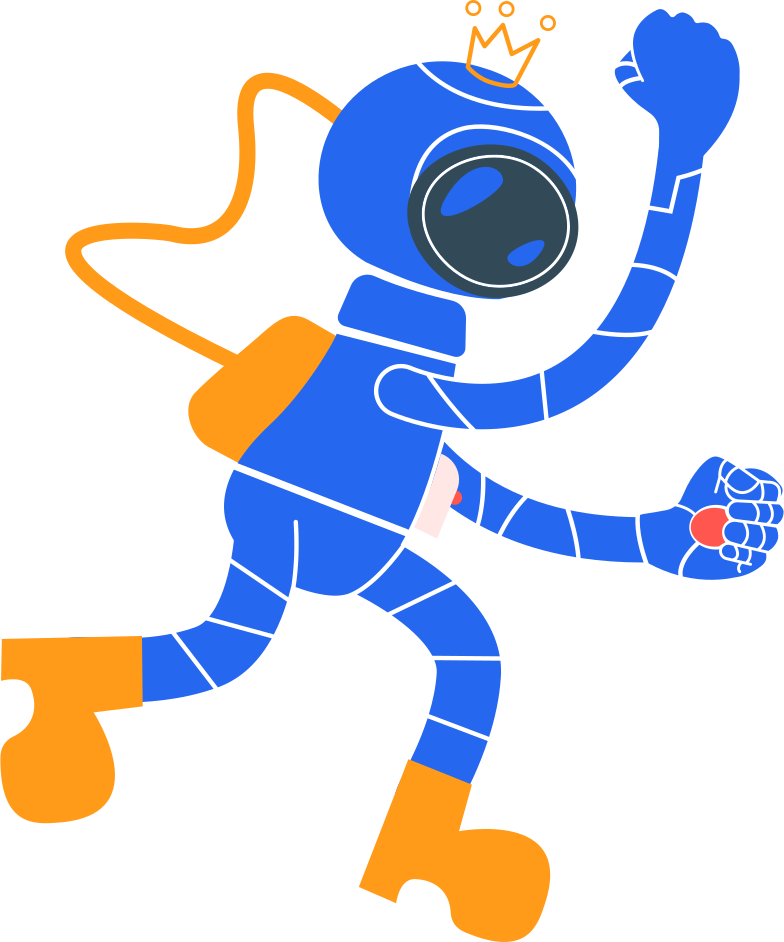 cosmonaut Clipart illustration in PNG, SVG
