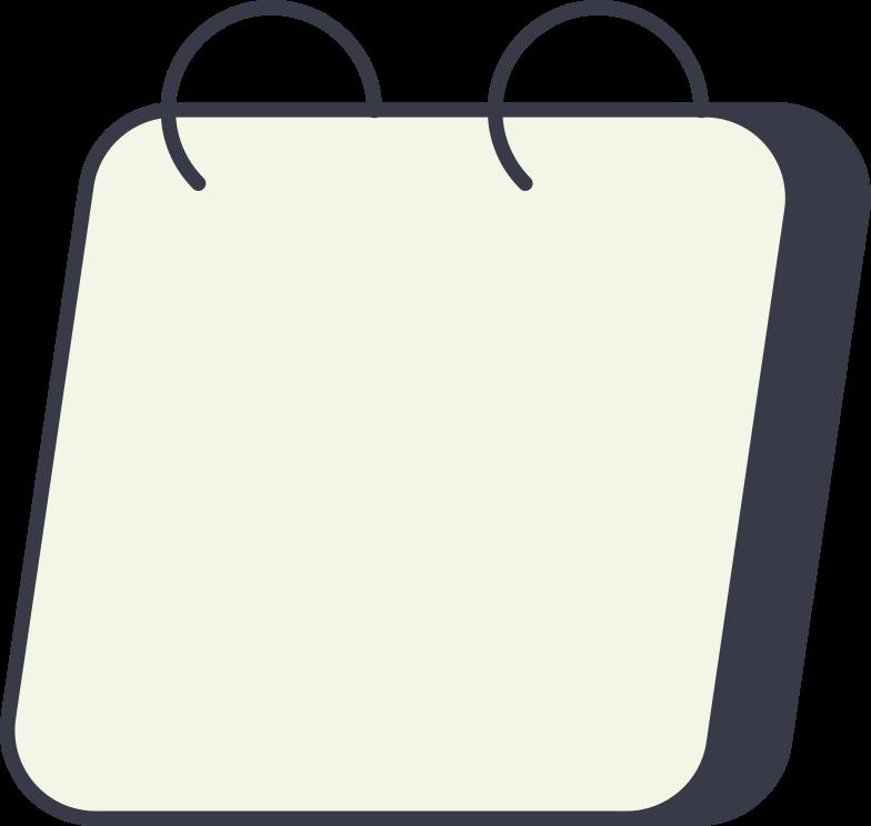 kalender leer Clipart-Grafik als PNG, SVG