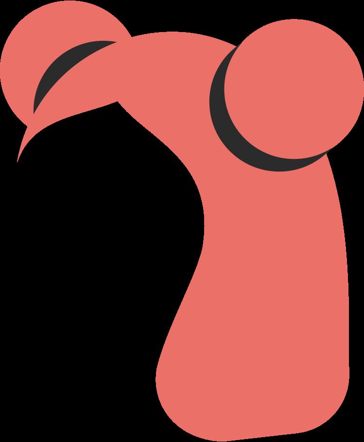 Ilustración de clipart de Dos bollos bob frente en PNG, SVG
