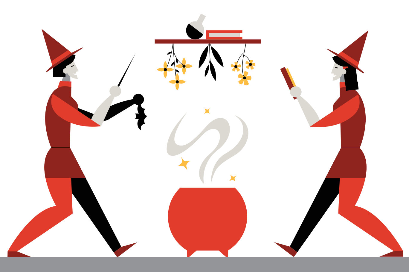 style Party of witches Vector images in PNG and SVG   Icons8 Illustrations
