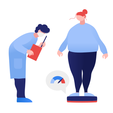style Appointment with a nutritionist images in PNG and SVG | Icons8 Illustrations