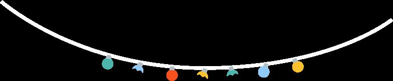 holiday lights Clipart illustration in PNG, SVG