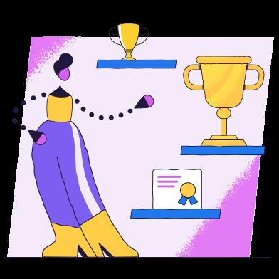 Imágenes de Lista de logros estilo  en PNG y SVG | Ilustraciones Icons8