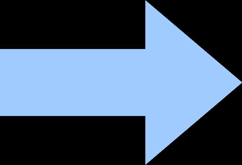 arrow-light-blue Clipart illustration in PNG, SVG