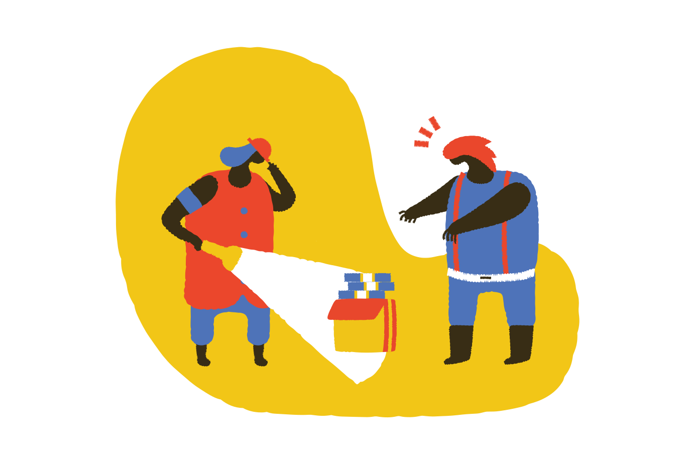 Found a treasure Clipart illustration in PNG, SVG