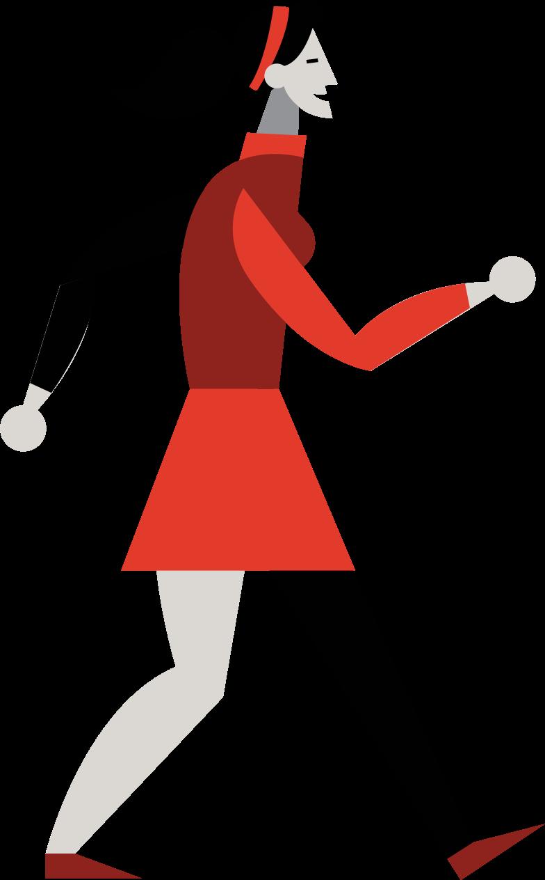 girl teenager Clipart illustration in PNG, SVG