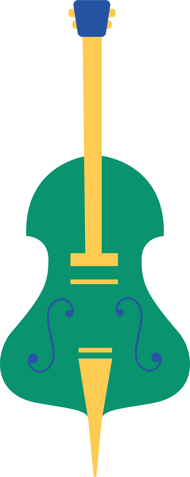 cello Clipart illustration in PNG, SVG