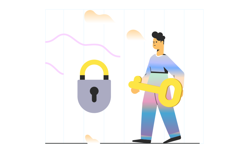 Cybersecurity Clipart illustration in PNG, SVG