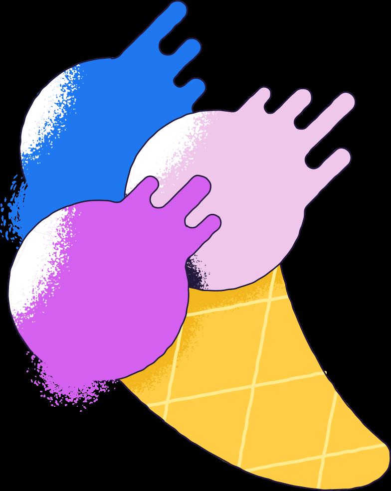 icecream big Clipart illustration in PNG, SVG