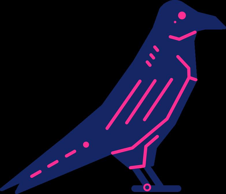 Style  cyborg corbeau halloween Images vectorielles en PNG et SVG | Icons8 Illustrations