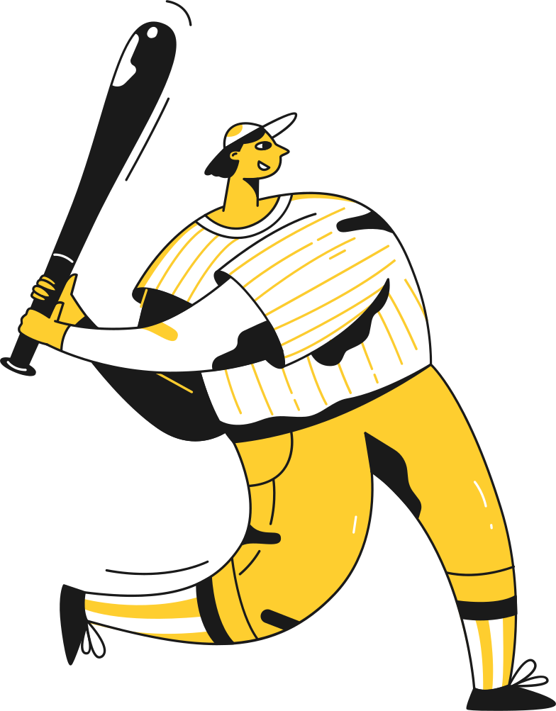 Vektorgrafik im  Stil baseballspieler als PNG und SVG | Icons8 Grafiken