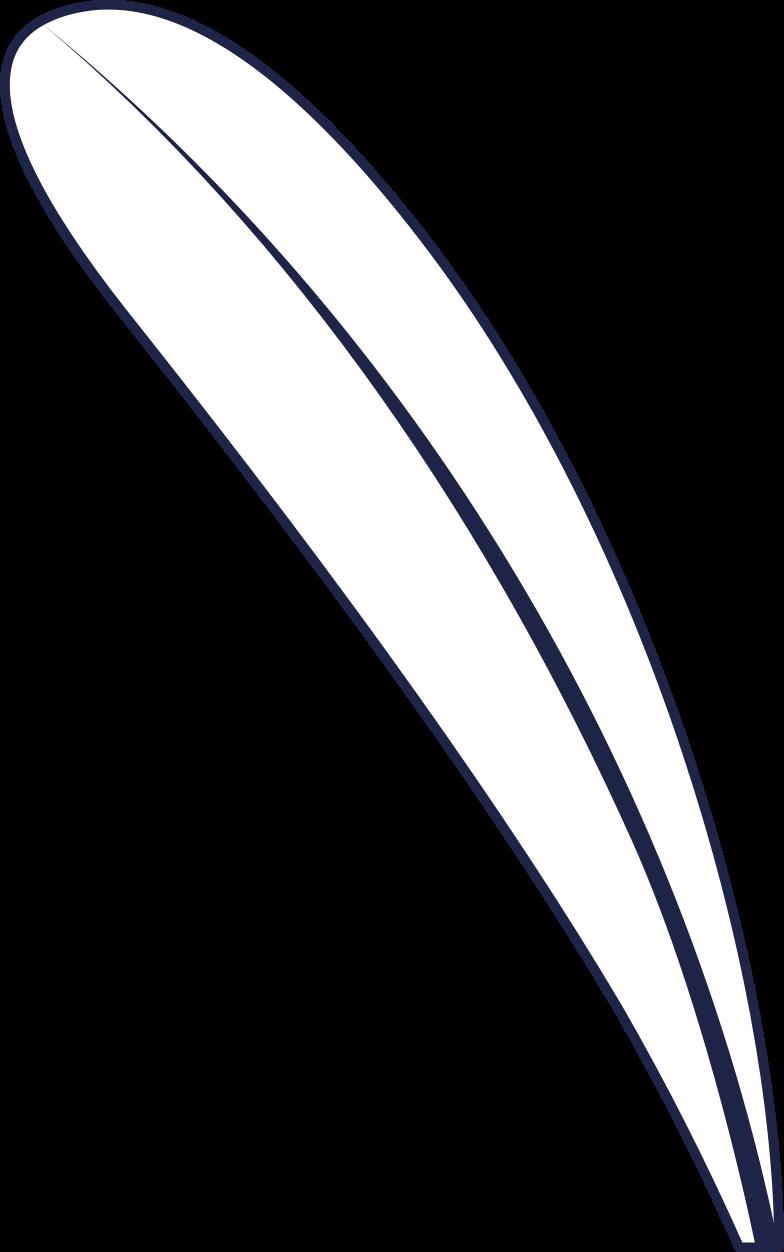 Folha 3 linha Clipart illustration in PNG, SVG
